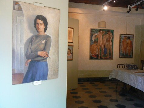 Expat women painters in Tuscany