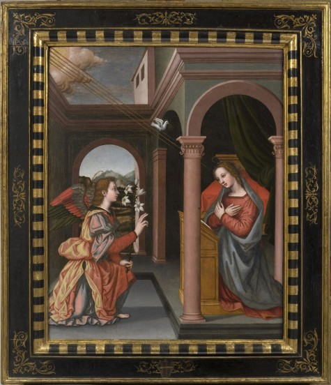 Nelli's Annunciation, restored