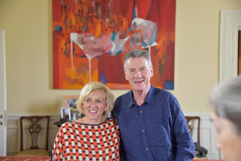 Michael Palin comes to town