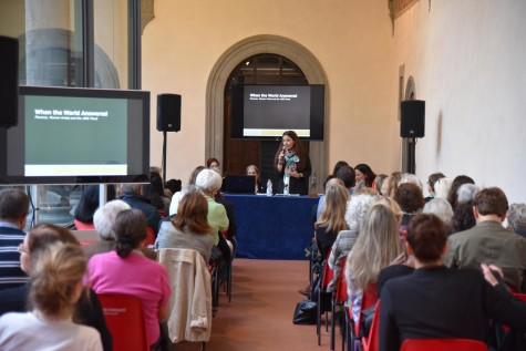 Vice Mayor Giachi presents WTWA at Museo Novecento
