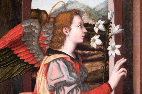 Landscape for Nelli's Archangel Gabriel